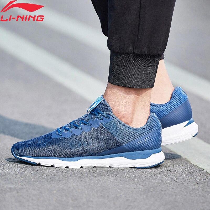 Li-Ning Men ACE RUN Light Running Shoes Cushion Breathable LiNing Li Ning Wearable Anti-Slip Sport Shoes Sneakers ARBN007 XYP664