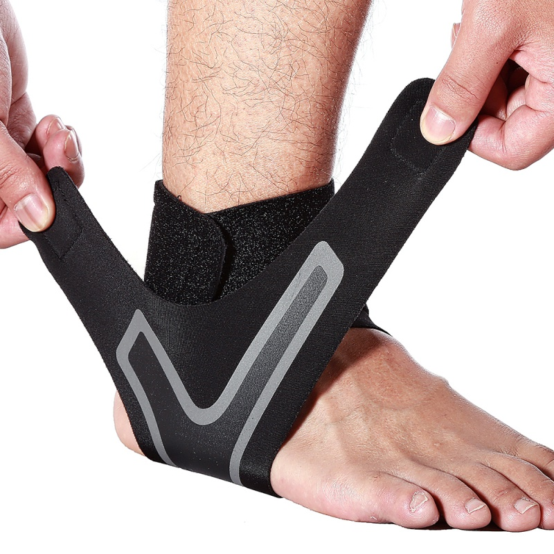 Men Women Joint Sprain Prevention Foot Sprain Basketball Running Ankle Support Brace New Sports Ankle Protector Pressure Sleeve