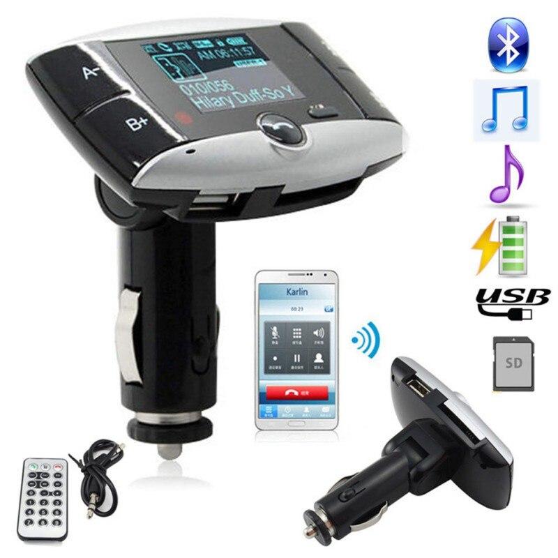Wireless Bluetooth FM Transmitter Modulator Car Kit MP3 Player SD USB LCD Remote 11