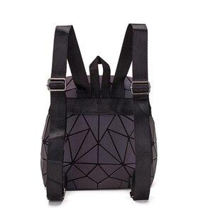 Image 5 - DIOMO Small Backpack Women Holographic Sequin Female Backpacks for Teenage Girls Bagpack Drawstring Bag Designer Korean Style