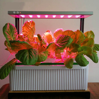Floorboot phyto lamp 전체 스펙트럼 led 온실 수경 식물 꽃 fitolampy에 대 한 클립과 빛 240V 식물 램프를 성장