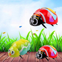 2.4G Remote Control Animal Beetle Electronic Pet Toy Smart Remote Control Caterpillar Children's Toys Birthday Gift