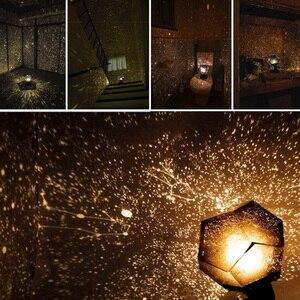 Image 4 - Night Light โปรเจคเตอร์ Star Sky Night โคมไฟ 3 โหมดหมุน 3 LED 3 สี Starry โปรเจคเตอร์โคมไฟสำหรับเด็กห้องนอน, คริสต์มาส G