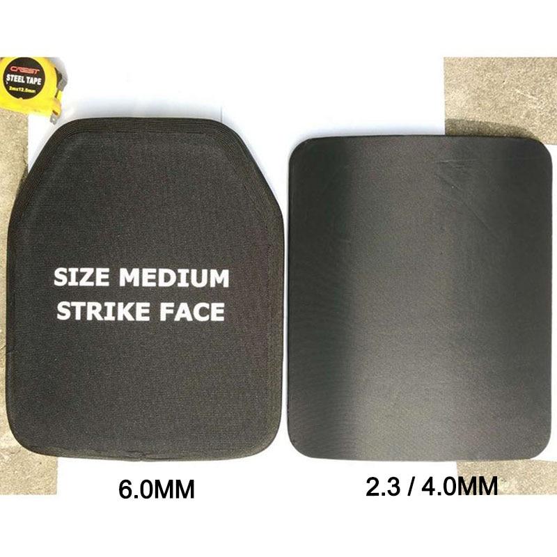 Plaque pare-balles niveau IV 4.0mm clapet de poitrine pour AK47 gilets pare-balles armure corporelle 6.0mm M16 trois types de plaque d'épaisseur - 4