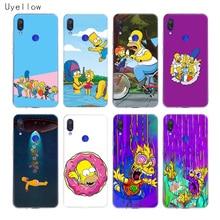 Uyellow Homer Draw Simpson Phone Case For Redmi S2 Note 4 5 6 7 4X 5A 5P 6A 7A Y3 Xiaomi A1 A2 A3 F1 8 lite 9 SE Cover