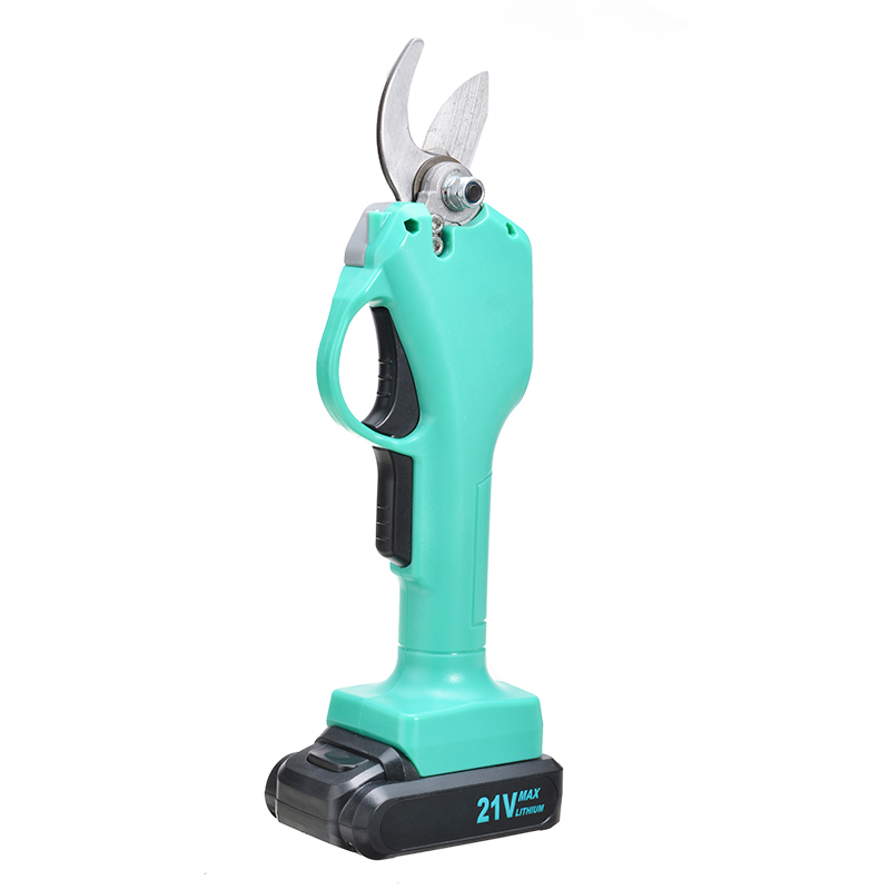 Pruning Battery Scissor Shears Rechargeable With Branch Pruner Tool Secateur Cordless Cutter 1pc Garden Cutting Electric