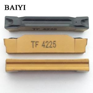 Image 4 - 10 pièces N123H2 0400 0004 TF 4225 carbure insert rainurage indexable fente insert CNC tour outils de coupe