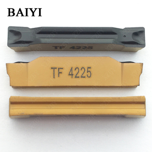 Image 4 - 10pcs N123H2 0400 0004 TF 4225 Carbide insert grooving indexable slotted insert CNC lathe cutting tools