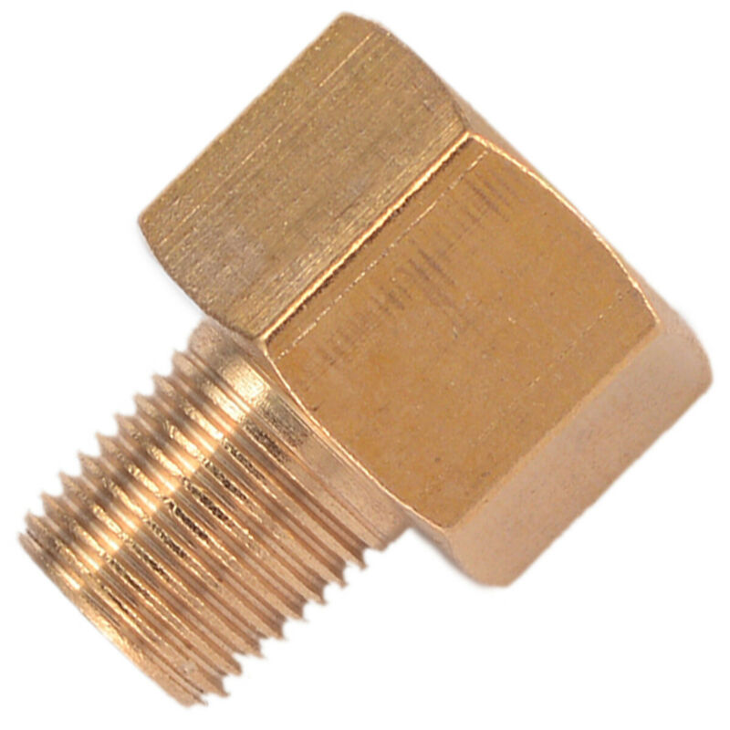 Brass BSP-NPT Adapter 1/8 Male BSPT To 1/4 Female NPT Brass Pipe Parts Tools