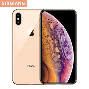 3 colors Used Original iPhone XS Max Hexa core 64GB/256GB 6.5inch Full Screen Smartphone Waterproof 12MP Rear Camera CellPhones