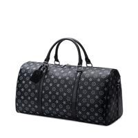 2019 Travel Bag Men's handbag Waterproof Leather Large Capacity Travel Duffle Multifunction Tote Casual Crossbody Bags