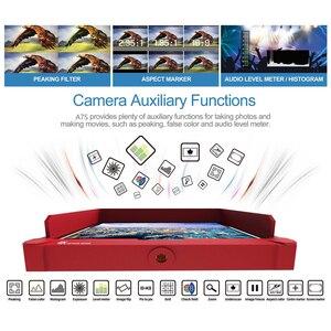 Image 4 - ליליפוט A7S 7 אינץ 1920x1200 HD IPS מסך 500cd/m2 מצלמה שדה צג 4K HDMI קלט פלט וידאו עבור DSLR ראי מצלמה