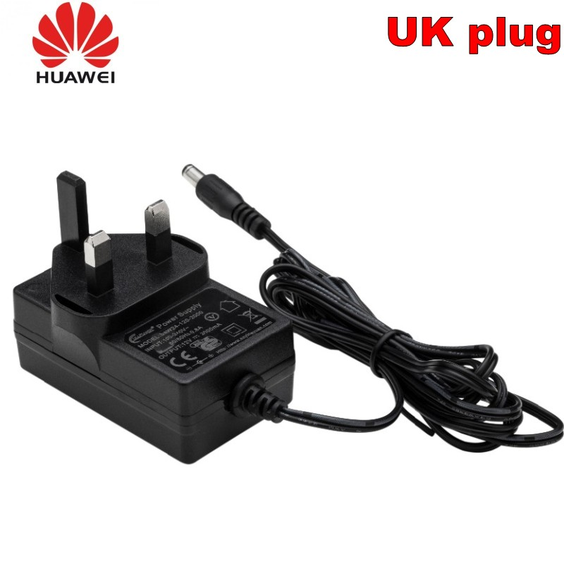 Original Huawei 100 240V 12V 2A 1A Switching Power Adapter for CPE Router Huawei B593 B315 B890 E5186 B525 B715 B612 Charger