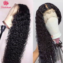 Water Curly Wave Lace Front Wig lace frontal human hair