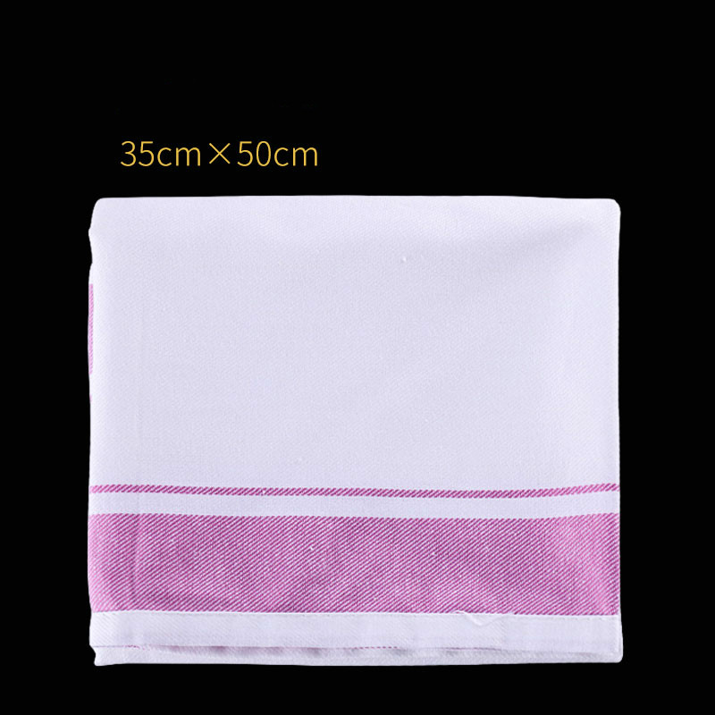 2pcs Pure Cotton Napkin Mouth Cloth Wiping Cup Cloth Wiping Glass Playing Cup Cloth Red Wine Glass Napkin Hotel
