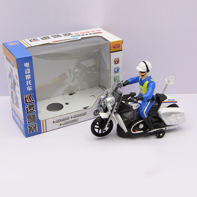Hot Sales 2688 Electric Universal Motorcycle Model Model Light Included Light Music Children Hot Selling Toy