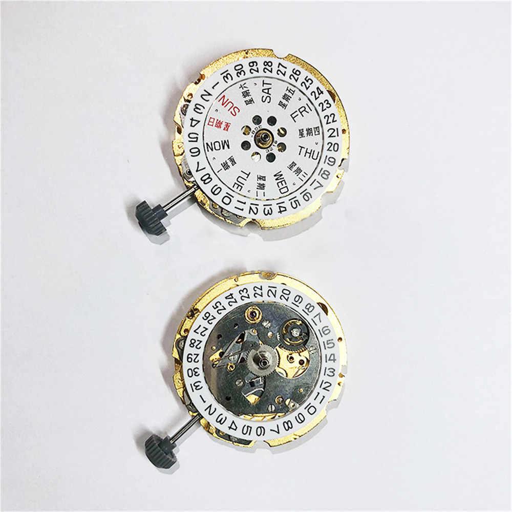 オリジナル日本運動交換御代田 8200 自動運動 21 宝石腕時計修理部品ダブル/シングルカレンダー