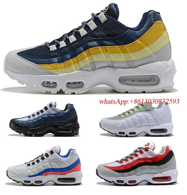 Original Quality 2020 New Arrivals Zapatillas OA 95 Pillow Ocean Sports Chaussure 95s Men Running Shoes Women Sneakers