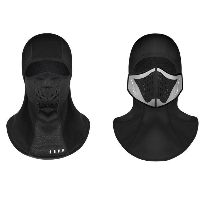 Full Face Warm Windproof Mask Bicycle Windproof Mask Outdoor Men Women Motorcycle Riding Windproof Mask|Motorcycle Face Mask| |  - title=