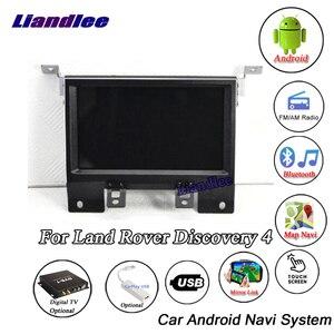 Image 2 - Araba multimedya DVD OYNATICI Land Rover Discovery 4 için LR4 L319 2009 ~ 2016 Android radyo Stereo ses Carplay GPS harita navigasyon