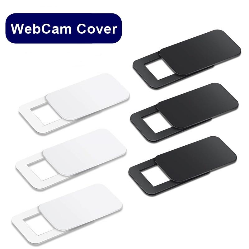Tongdaytech Ultra Thin Lens WebCam Cover Shutter Slider Plastic Camera Cover For Ipad Phone PC Laptop Lens Privacy Sticker