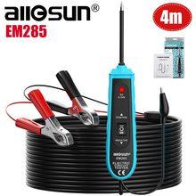 Все-Sun EM285 автомобильный тестер электрической цепи автомобильные инструменты 6-24 В DC