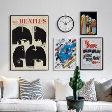 Pósteres clásicos de estética The Beatle albons, impresiones Vintage para pared, pintura en lienzo, decoración del hogar, decoración de la casa y la sala de estar