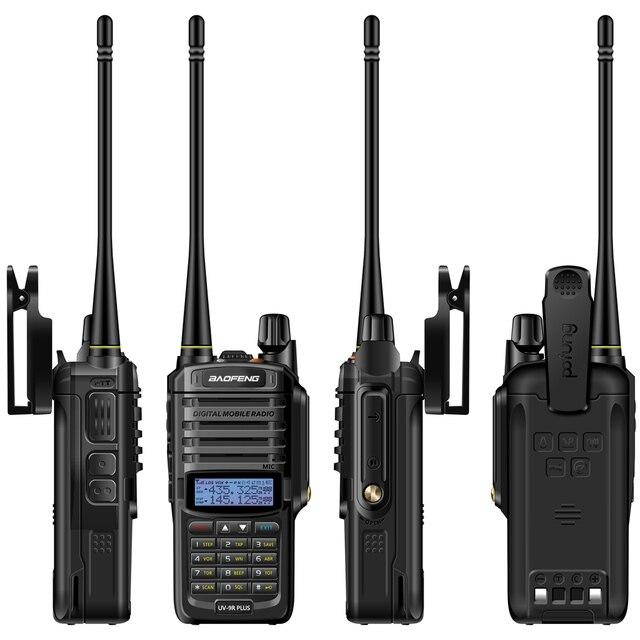 2021 Baofeng UV-9R plus Waterproof IP68  Walkie Talkie High Power CB Ham 30-50 KM Long Range  UV9R portable Two Way Radio 6