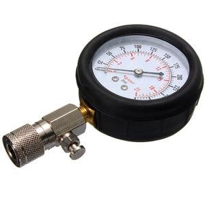 Image 2 - Automotive Benzinmotor Compression Gauge Tester Auto Benzin Motor Zylinder Druck Test Repair Tool Kits 0 300 PSI