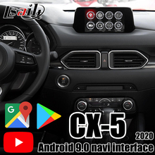 Lsailt Android 9,0 Auto Multimedia Video Interface für Mazda CX-5 2013-20 unterstützung Carplay, netflix in MX-5 CX-3 CX-4 CX-9