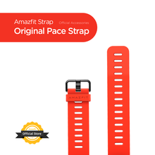 Cinturino originale Amazfit Pace cinturino rosso nero per Amazfit Smart Watch Pace Smartwatch senza scatola