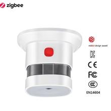 Zigbee Smoke Detector Smart…