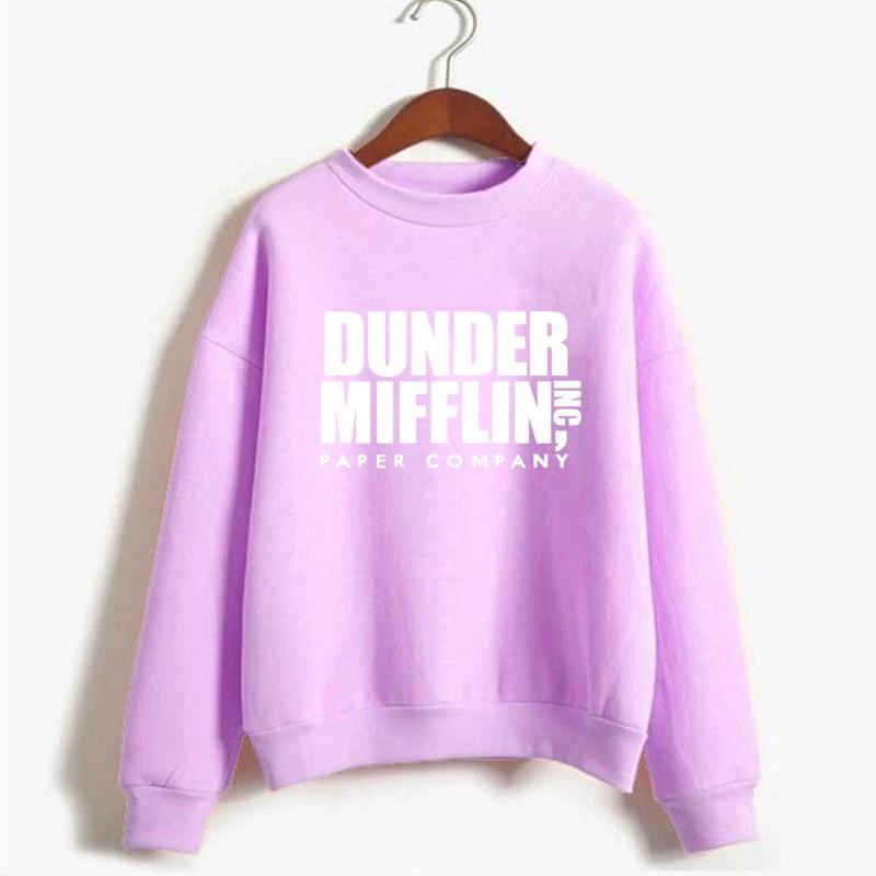 Tops The Office Tv Hoodie Men Women Dunder Mifflin Inc Paper Company Wernham Hogg TV Show Michael Scott Space Sweatshirt 8