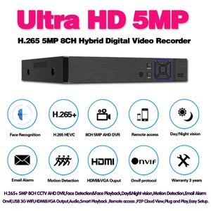 Image 2 - Viso di Rilevamento Umano H.265 8CH AHD 5MP di sorveglianza DVR NVR 8 canali 5MP fino a 16CH 1080P di Sicurezza 3G WIFI DVR video recorder