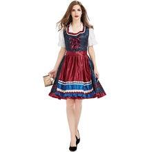 Роскошное пивное женское платье праздничный костюм на Октоберфест