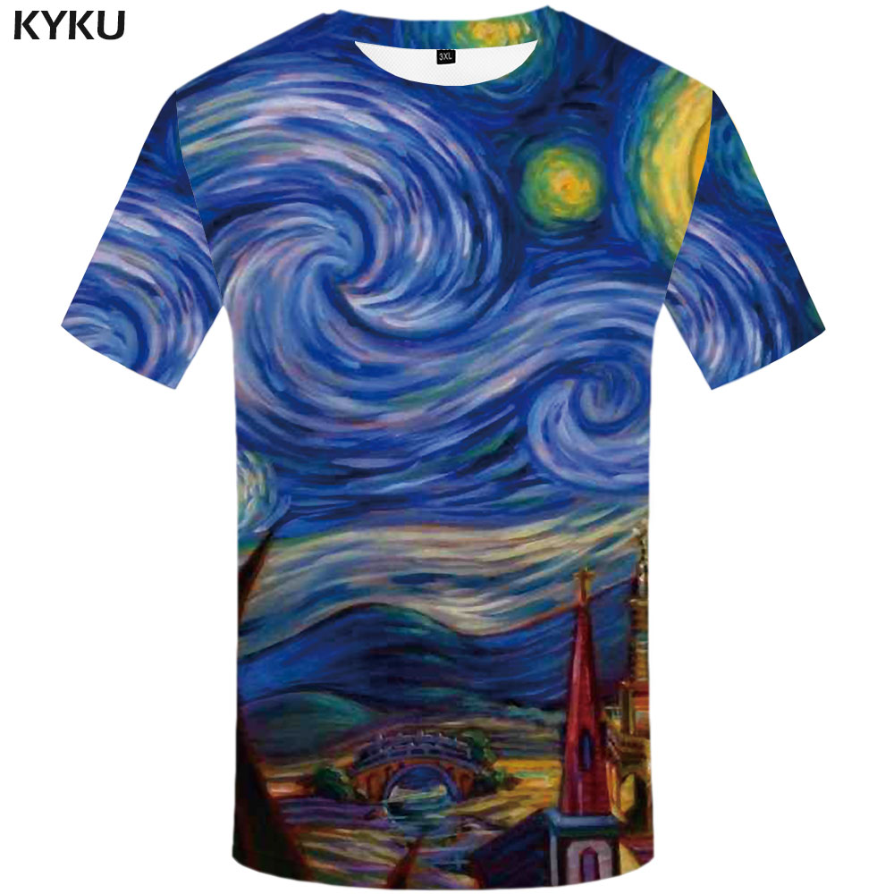 3d Tshirt Dizziness T Shirt Men Psychedelic Tshirt Printed Abstract Funny T Shirts Element T-shirts 3d Gothic Shirt Print