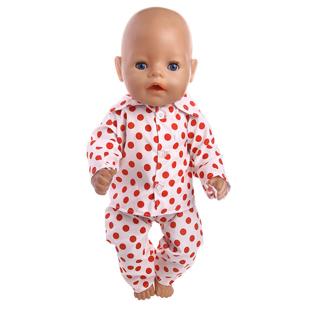 Doll Clothes Animals Jumpsuit For American Girl For Born Baby 18 Inch Toy Gift