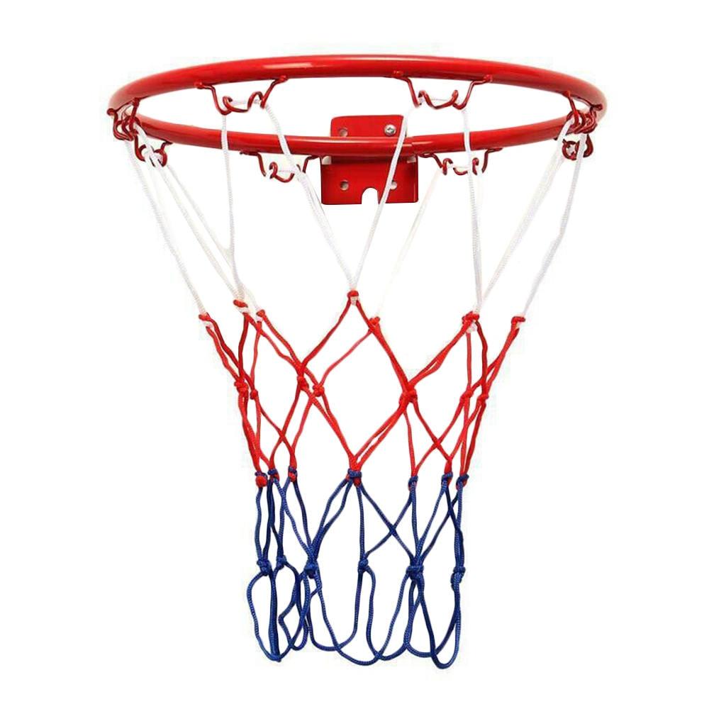Basketball Hoop Hanging Wall Mounted Goal Hoop Rim For Indoor Outdoor Kids Play