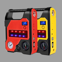 Multifunction Car Jump Starter 22000mAh Powerbank 12V Portable Car Battery Booster Charger Power Bank with Air Ppump Flashlight
