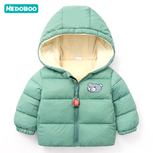 Medoboo Thick Warm Baby Winter Clothes Coat Jacket for Girls Boys Jumpsuit Newborn Children Snowsuit Coveralls Overalls