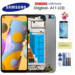 ЖК-дисплей с дигитайзером на Samsung Galaxy A11, сенсорный экран 6,4 дюйма, 100% оригинал, A115, A115F