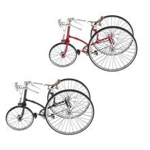 Modelo de bicicleta Retro Vintage creativo, escritorio de hogar, decoración de oficina, regalos para adultos, juguetes para niños, colores exclusivos
