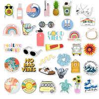 35Pcs Pack Simple Girl Cute Cartoon Vsco Sticker Decal DIY for Laptop Luggage Guaitar Skateboard Toy Waterproof Stickers