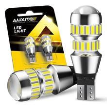 2 uds 2000LM T15 LED Canbus No OBC Error de luz de la lámpara de W16W T16 LED 4014 42-SMD 912 921 bombilla luces de marcha atrás de coche Auto lámpara 12V