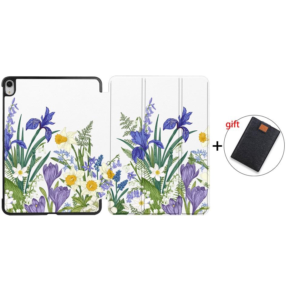 IPAD13 Orange Sanmubaba 2020 Cover Case For iPad Pro Air 10 9 inch 4th Generation Slim PU Leather