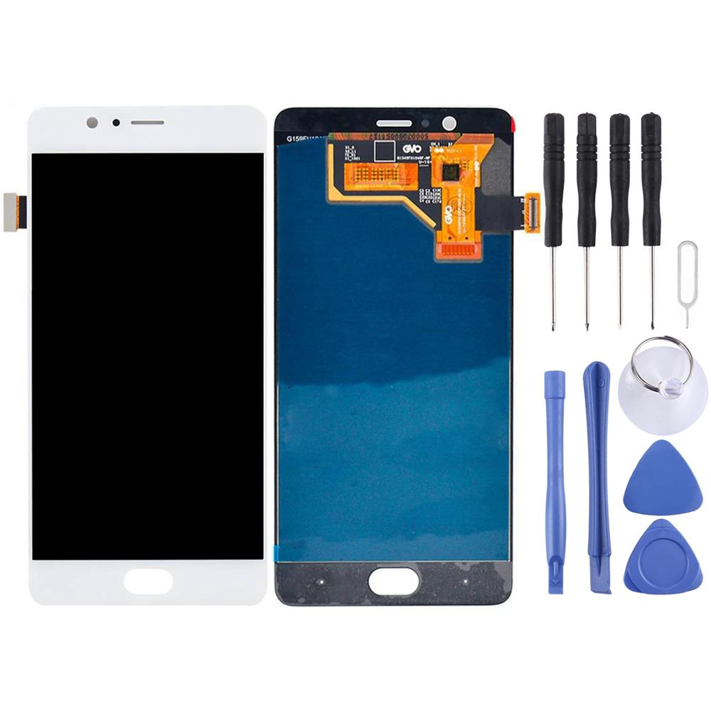For ZTE Nubia M2 / <font><b>NX551J</b></font> LCD Screen and Digitizer Full Assembly(White) image