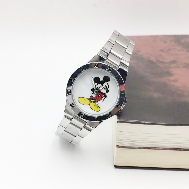 Classic Design Minnie Mouse Watch For Women Fashion Womens Quartz Watches Girl Ladies Female Clock Gift 3D Cartoon Relojes Mujer