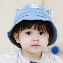 Autumn Winter Baby Girl Boy Outdoor Hat Cotton Soft Comfortable Feeling Keep Warm Kid Cute Cat Ear