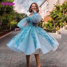 Sodigne короткое Пышное Бальное платье платья для выпускного