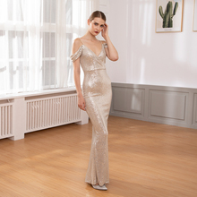 Off The Shoulder Striped Sequined Wrapped V Neck Maxi Dress Stretchy Low Cut Slit Leg Long Party Dress high slit striped maxi dress
